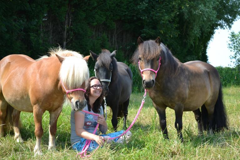 Op een paard hoor je toch te rijden?